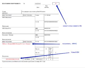 Код цели плательщика в платежном поручении в казначействе