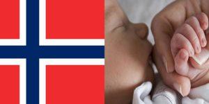 При рождении ребенка внорвегии
