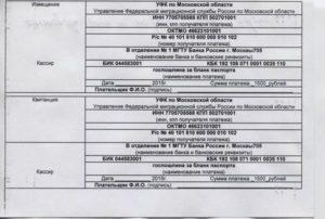 Госпошлина при замене паспорта гражданина р ф по возрасту