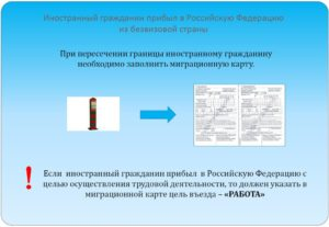 Документы необходимые для устройства на работу гражданина украины