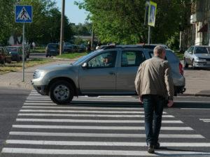 Сколько штраф автомобиля стоящего на пешеходном переходе