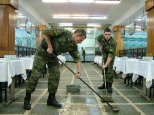 Что солдаты делают в наряде