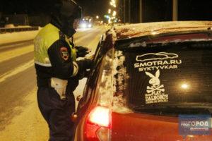 Поймали пьяного без прав на чужой машине