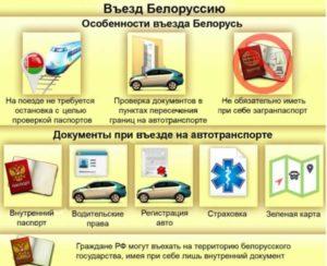 С каким паспортом ехать в беларусь гражданину рф