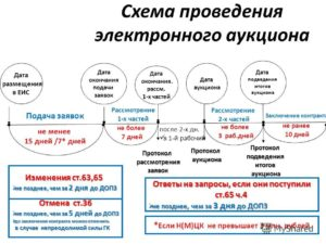 Срок размещения протокола проведения аукциона 44 фз