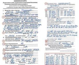 Когда выдают обменную карту беременной на руки в москве 2020