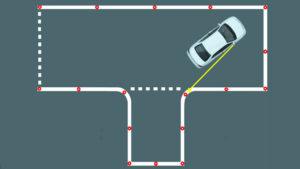 Как заехать в гараж на автодроме по схеме