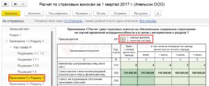 Количество работников в отчете по страховым взносам