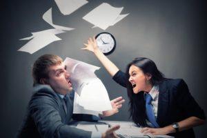 Как уволить человека за неадекватное поведение на работе