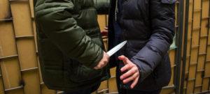 Разбойное нападение с ножом кака статья