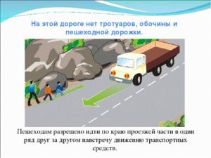 Когда разрешено двигаться по тротуарам