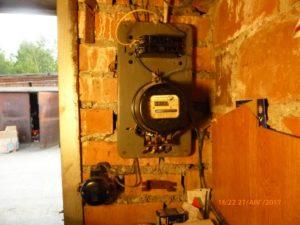 Как поймать вора электроэнергии в гаражном кооперативе