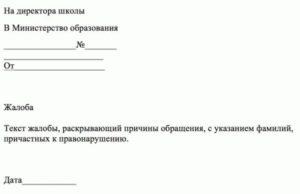 Как написать анонимное письмо в министерство образования