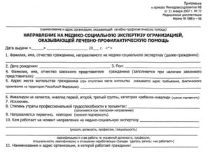 Посыльный лист на мсэк форма 088у 06 бланк