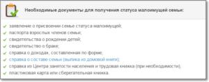 Какие нужны справки для оформления малообеспеченной семьи 2020 в украине