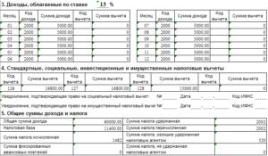 Код налогового вычета 116