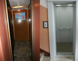 Когда меняют лифты в доме