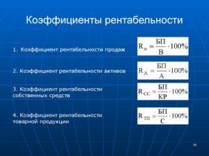 Коэффициент базовой прибыльности активов