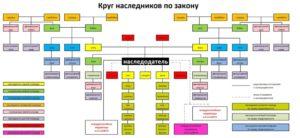 Категории родства и очереди наследования