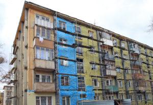 Капитальный ремонт в панельном пятиэтажном доме