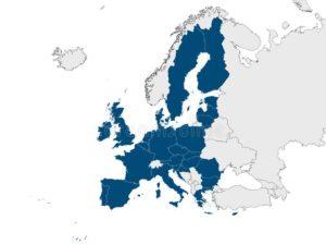Ес на карте мира 2020