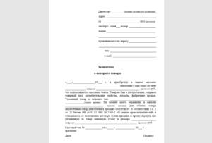 Кассир ру пример заполнения заявления на возврат
