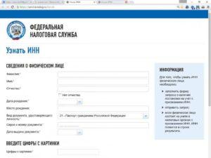 Поиск по инн узнать паспортные данные человека