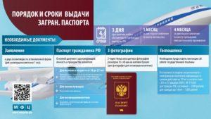 Какие документы необходимы в мфц для замены загранпаспорта