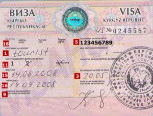 Какие документы нужны для поездки в киргизию из россии