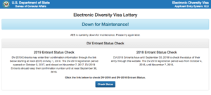 Когда будет лотерея грин кард 2020