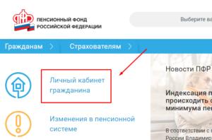 Гос услуги республики рф пенсионный фонд