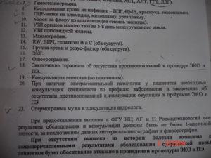 Список документов на платное эко в красноярске