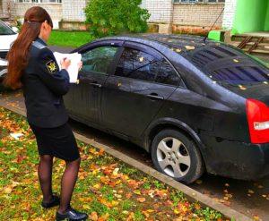 Сдать автомобиль в счет долга судебными приставами