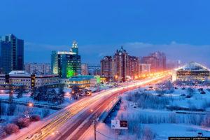 Город россии для жизни зимой