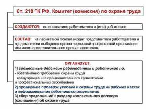 Каким образом утверждается состав комитета комиссии по охране труда