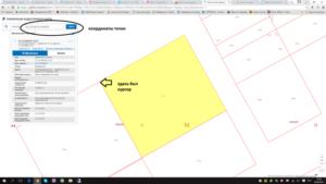 Где узнать координаты земельного участка по кадастровому номеру