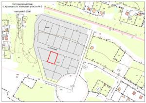 Ситуационный план земельного участка для газификации образец