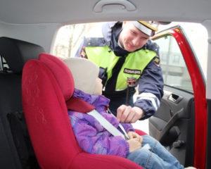 Какой штраф если ребенок 9 лет сидит сщади не пристегнут