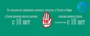 Со скольки лет можно покупать энергетики в россии безалкогольные 2020