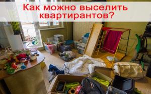 Как выселить квартирантов с детьми зимой