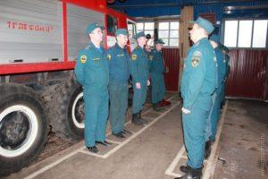 Состав внутреннего наряда пожарной части