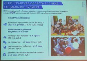 Социальный кодекс ленинградской области с изменениями в 2020 году