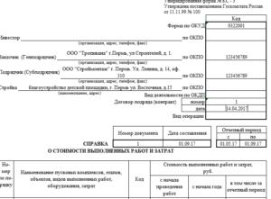 Справка кс3 заполнить онлайн казахстан