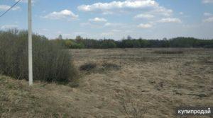 Полевой земельный участок для ведения личного подсобного хозяйства