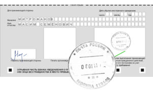 Как сделать временную регистрацию в спб через почту