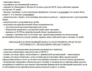 Документы для погашения ипотеки за счет материнского капитала в мфц