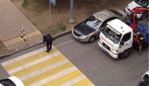 Штраф за парковку перед пешеходным переходом меньше чем 5 метров