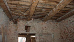 По каким сериям деревянные перекрытия в старых домах