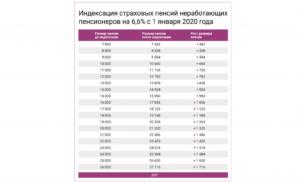 Социальные пенсии в 2020 году индексация с 1 апреля